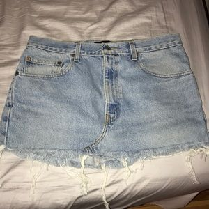 Kendall and Kylie Pacsun jean skirt!